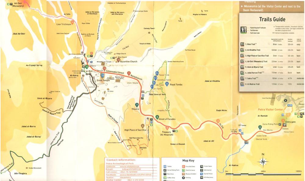 Map Of Petra Island Ny